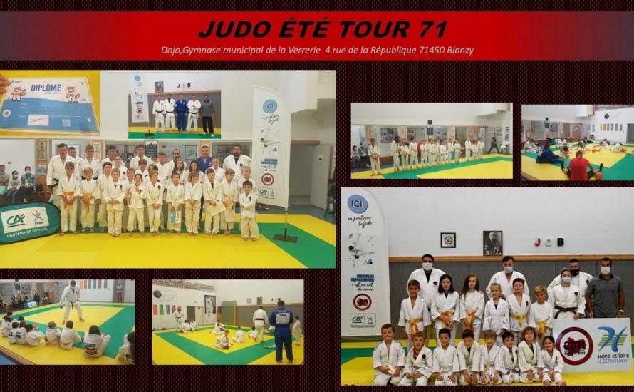 Le JCB accueil la première étape du JUDO ETE TOUR 71 !!