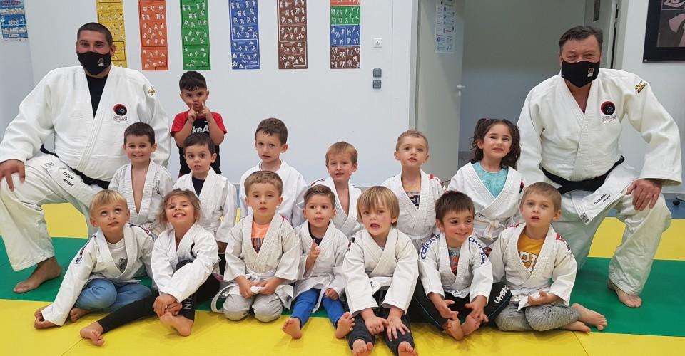 1er cours Eveil-Judo Sept 2020
